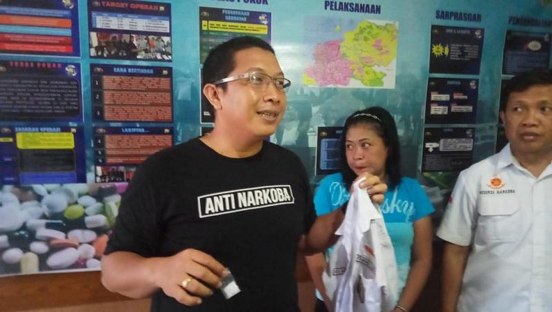 Kasat Narkoba Polrestabes Makassar, Kompol Diari Astetika, di Makassar, Sulawesi Selatan, Rabu 4 November 2019. Foto: Medcom.id/M Syawaluddin