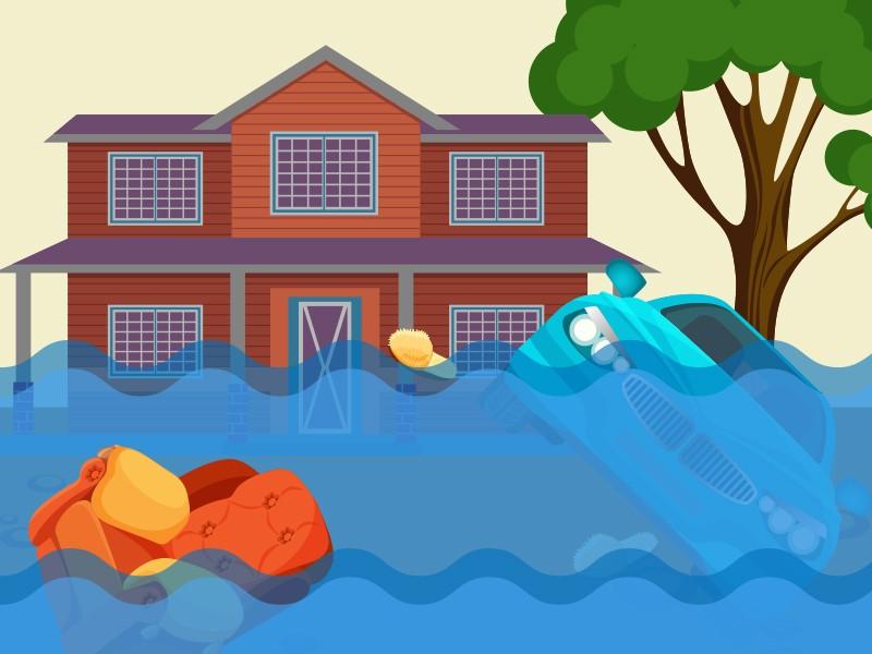 Banjir Landa Empat Daerah di Sulsel