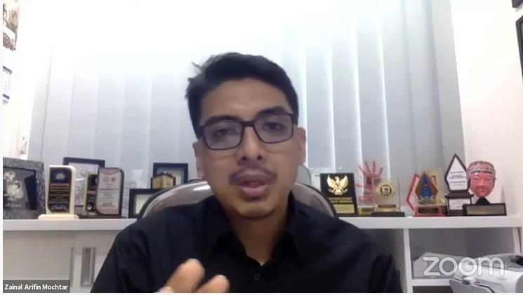 Peneliti senior Pusat Kajian Antikorupsi (Pukat) Universitas Gadjah Mada (UGM) Zainal Arifin Mochtar. Medcom.id/Theofilus Ifan Sucipto