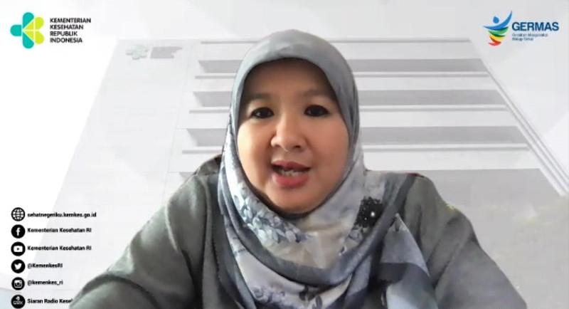 Juru bicara vaksinasi Kemenkes Siti Nadia Tarmizi. Dok. Kementerian Kesehatan