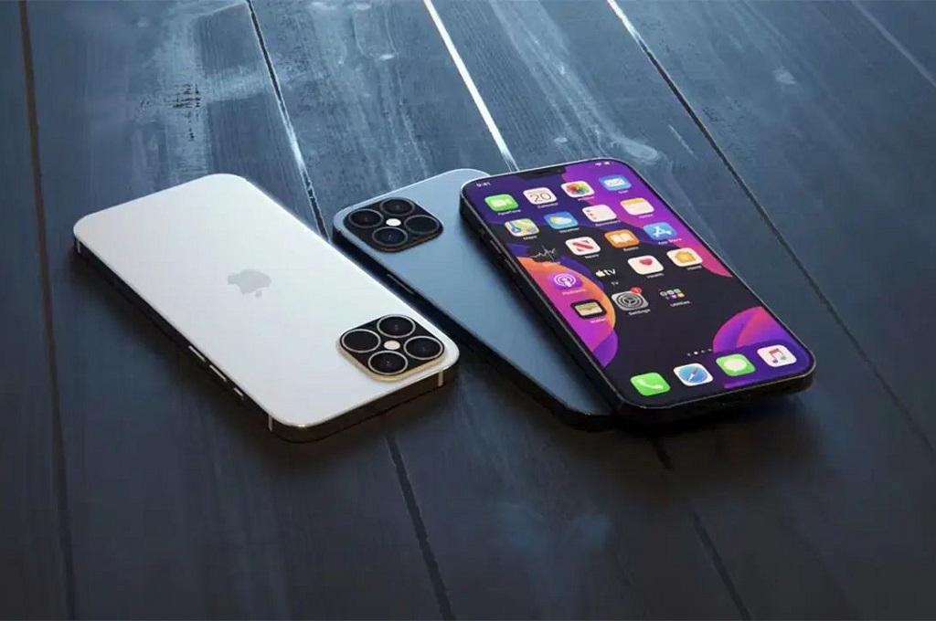 Ilustrasi Iphone 12.