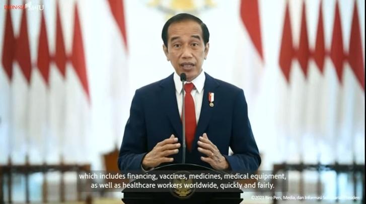 Jokowi Serukan Penataan Ulang Arsitektur Ketahanan Kesehatan Global