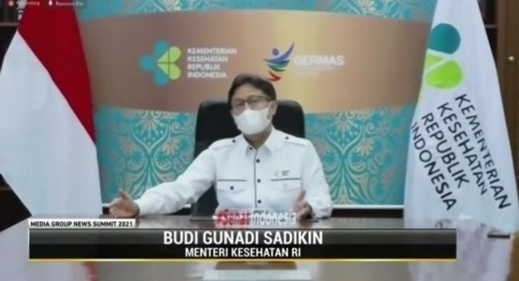 Menteri Kesehatan Budi Gunadi Sadikin. Medcom.id