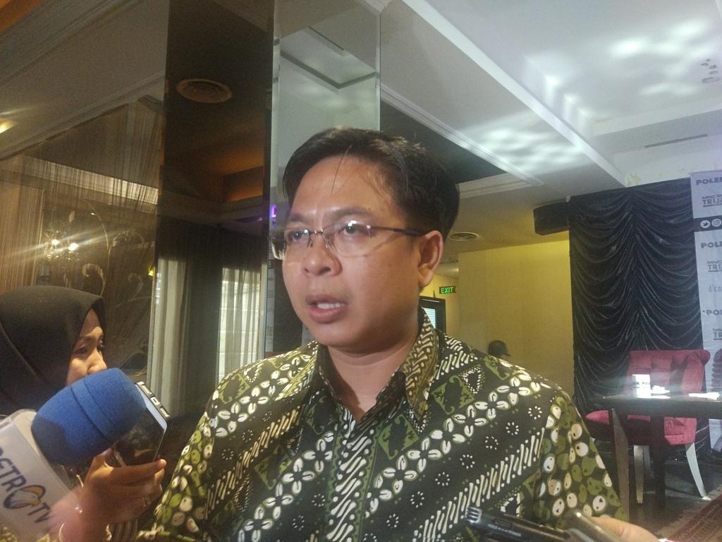 Direktur Eksekutif Indikator Politik Indonesia Burhanuddin Muhtadi. Medcom.id/Annisa Ayu